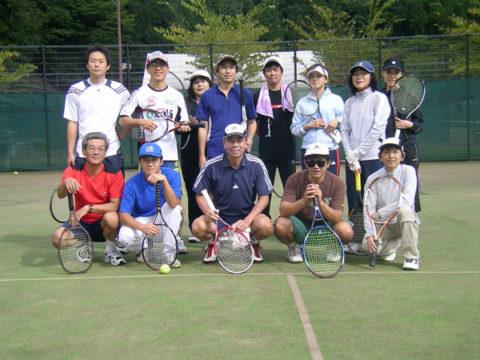 ヤマウチテニス部様2009年夏合宿in福井